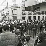 14-D, 1988: 30 años de piquetes en El Corte Inglés